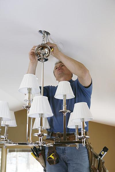 light-fixture-install